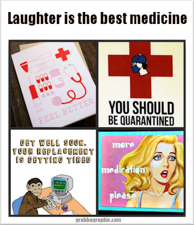 Laughter is the best medicine 1